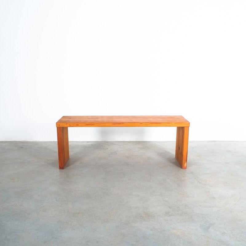 Bench Fir Wood Raffaello Biagetti 04