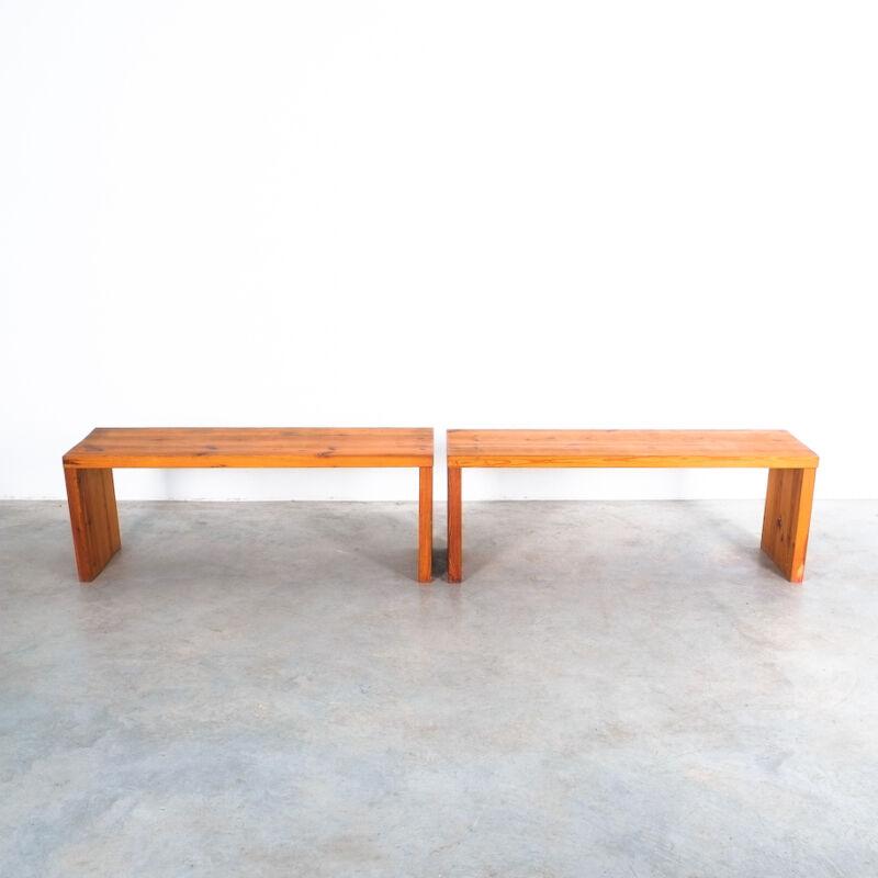 Bench Fir Wood Raffaello Biagetti 05