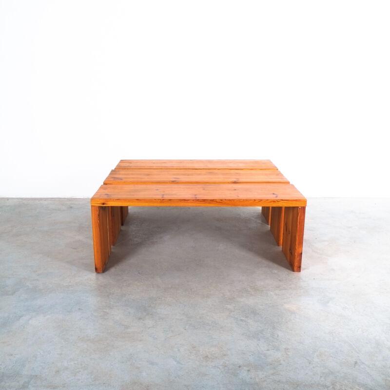 Bench Fir Wood Raffaello Biagetti 06