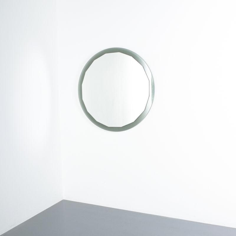 Bicolor Mirror Green Glass 02