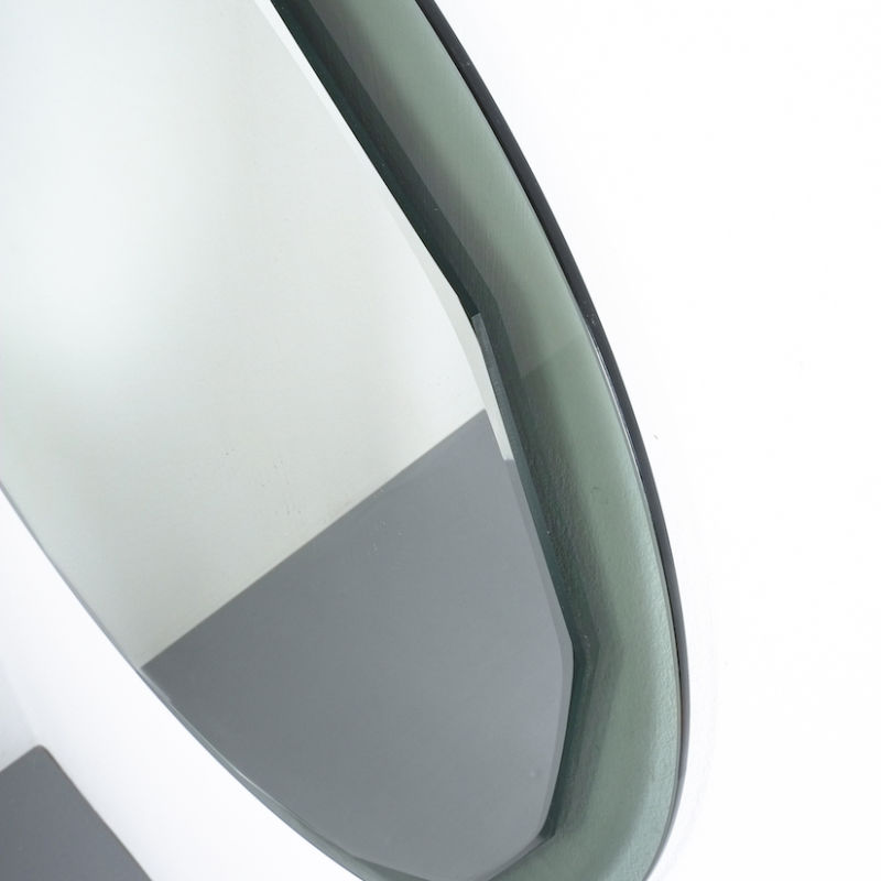 Bicolor Mirror Green Glass 03