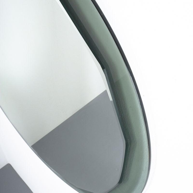 Bicolor Mirror Green Glass 03