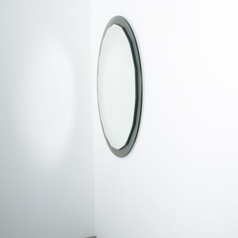 Bicolor Mirror Green Glass 05