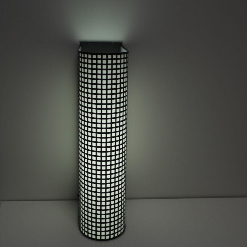 Black Wire Mesh Grid Post Modern Lamp 13
