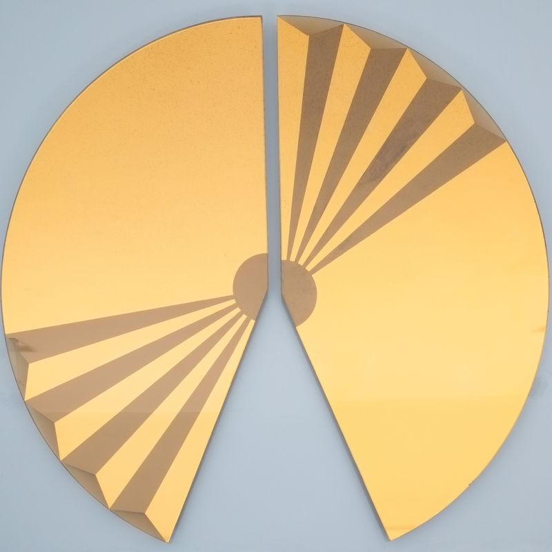 Bonze Gold Mirror Fan 1980 04
