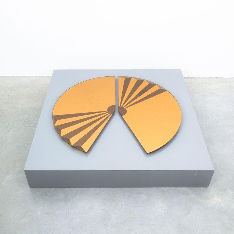 Bonze Gold Mirror Fan 1980 06