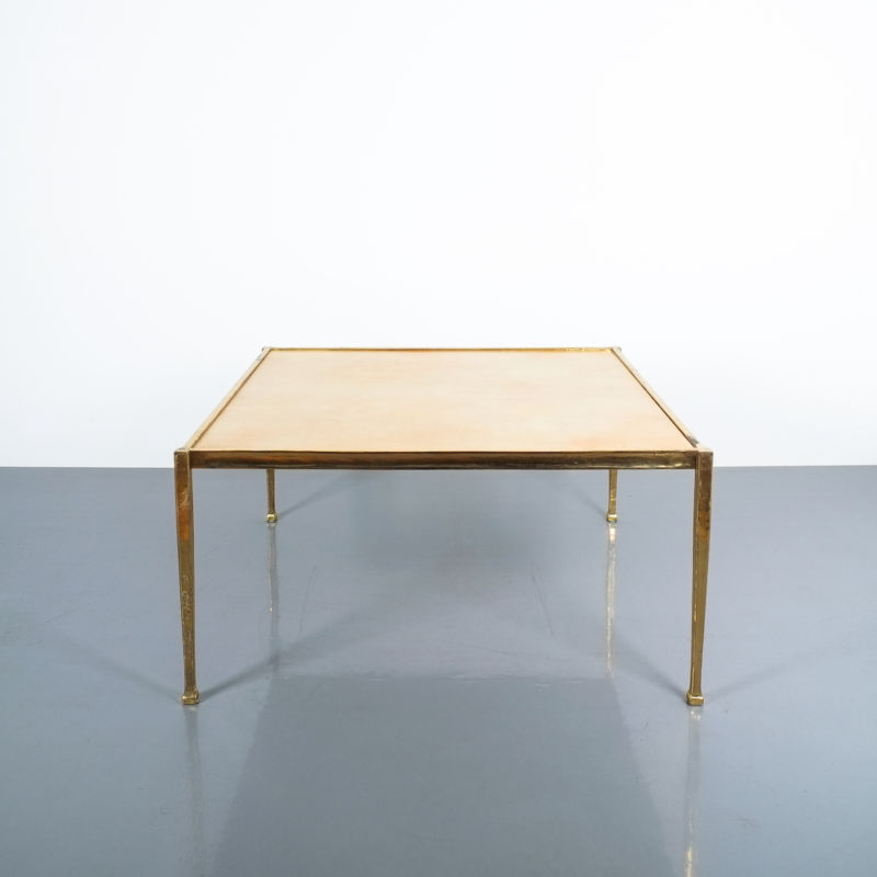 Brass Parchment Table Style Frank Tura 02