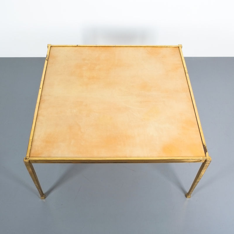 Brass Parchment Table Style Frank Tura 07