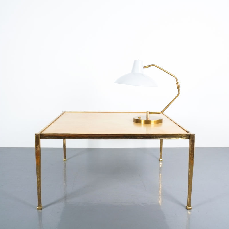 Brass Parchment Table Style Frank Tura 09