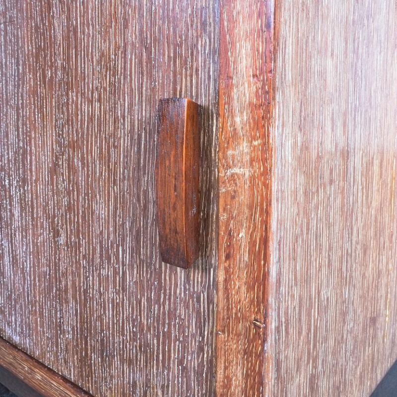 Cerused Oak Bed Side Tables 1940 12