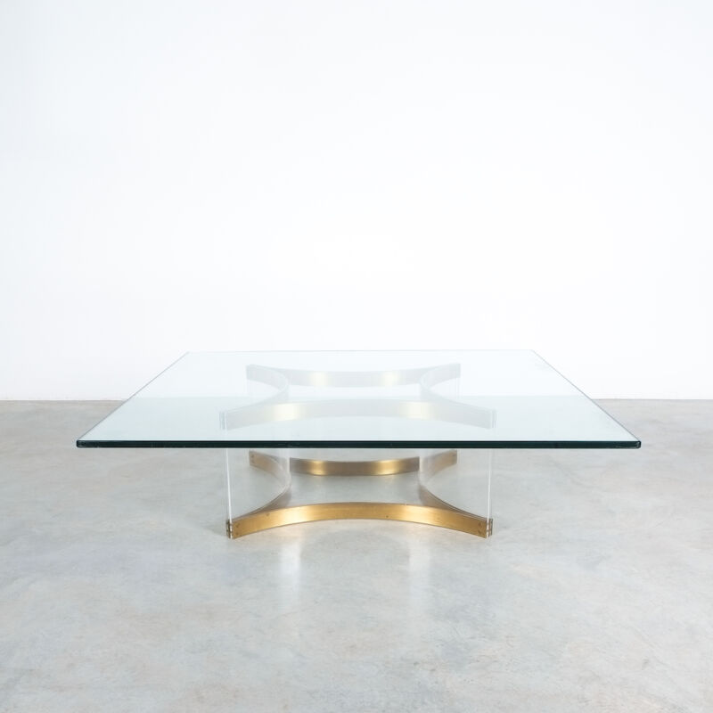 Charles Hollis Jones Lucite Table Giant 03