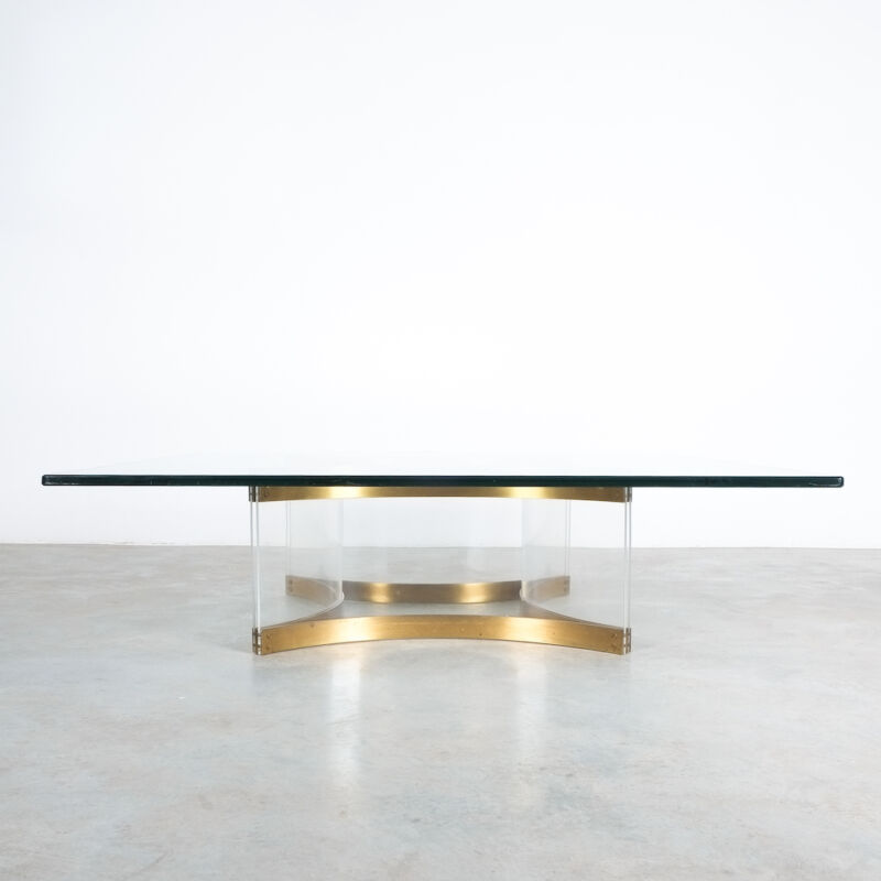 Charles Hollis Jones Lucite Table Giant 04