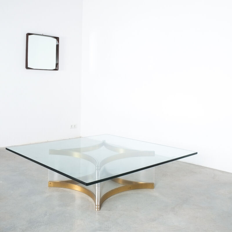 Charles Hollis Jones Lucite Table Giant 05