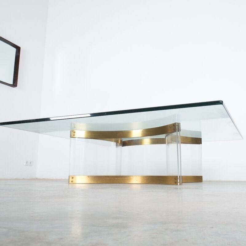 Charles Hollis Jones Lucite Table Giant 06