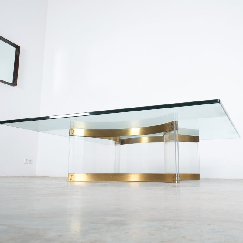Charles Hollis Jones Lucite Table Giant 06