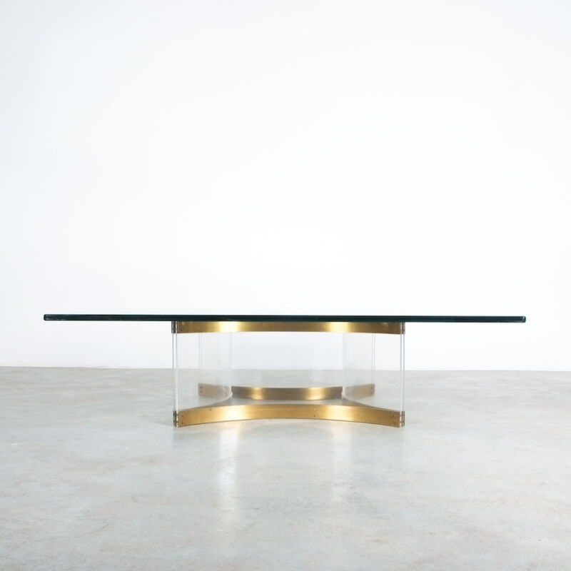 Charles Hollis Jones Lucite Table Giant 07