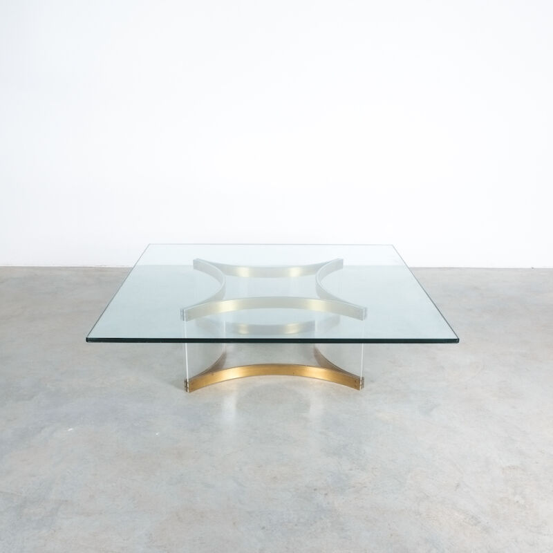 Charles Hollis Jones Lucite Table Giant 09
