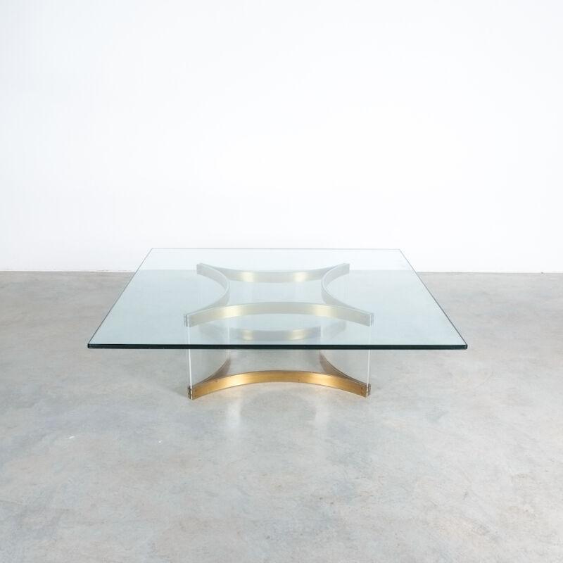 Charles Hollis Jones Lucite Table Giant 09