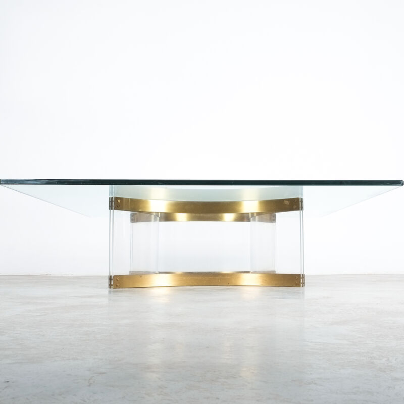 Charles Hollis Jones Lucite Table Giant 10
