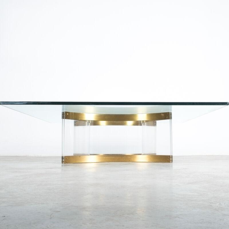 Charles Hollis Jones Lucite Table Giant 10