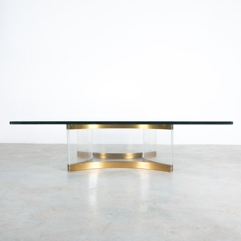 Charles Hollis Jones Lucite Table Giant 11