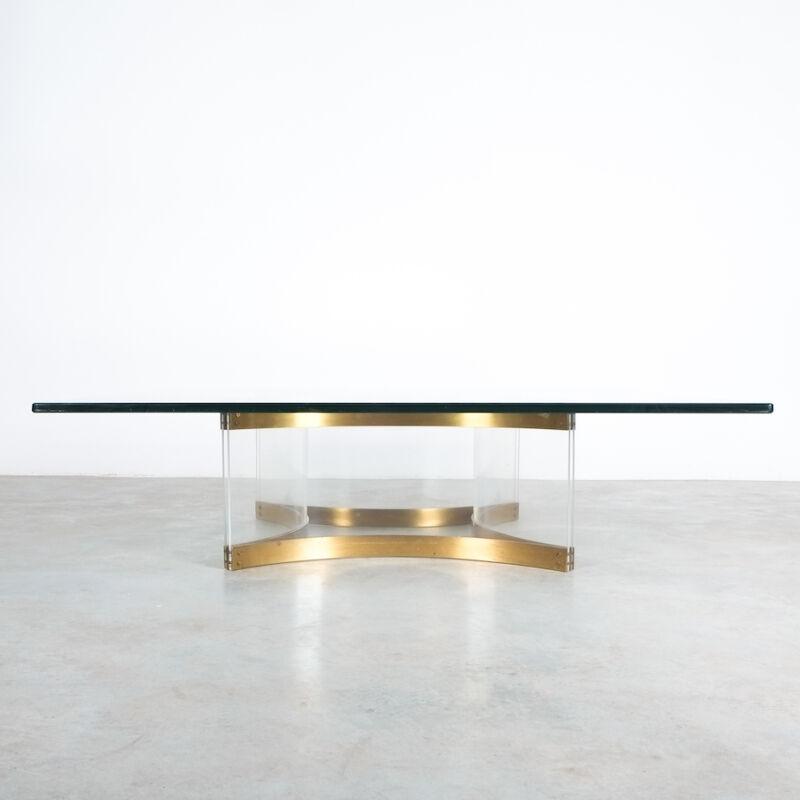Charles Hollis Jones Lucite Table Giant 11