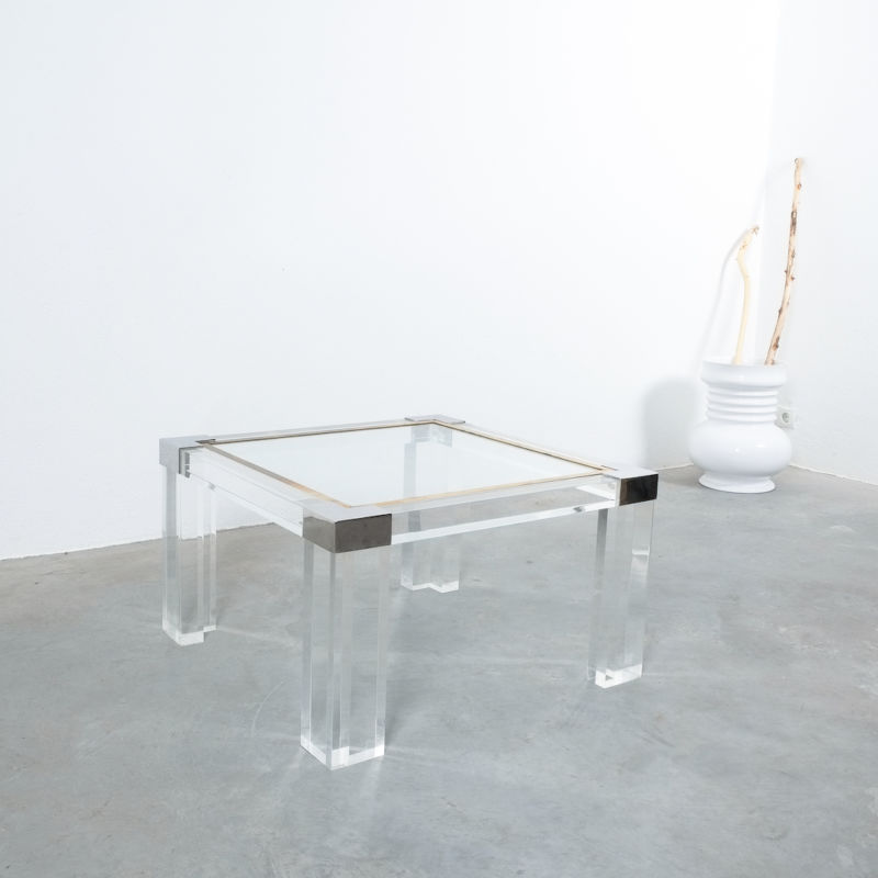 Charles Hollis Lucite Table 02