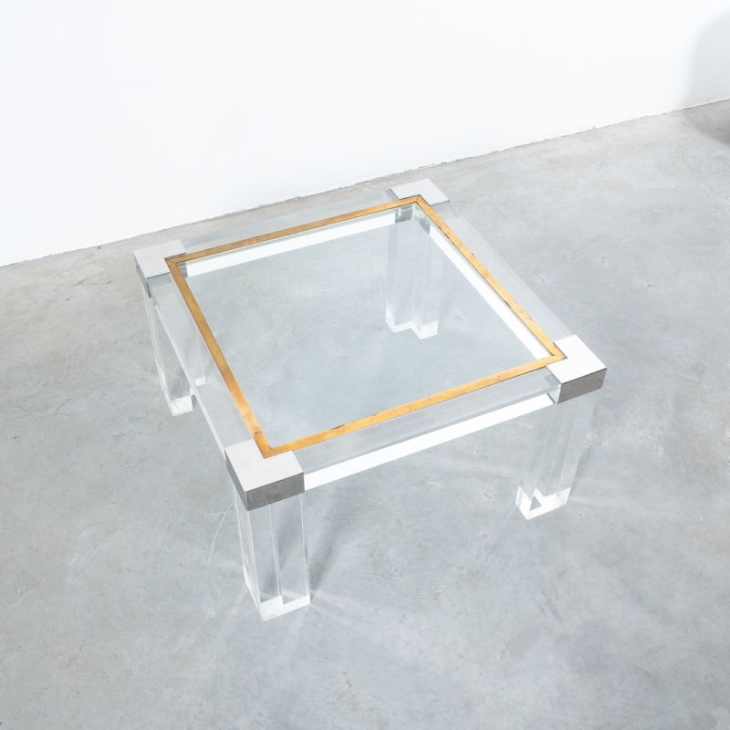 Charles Hollis Lucite Table 03