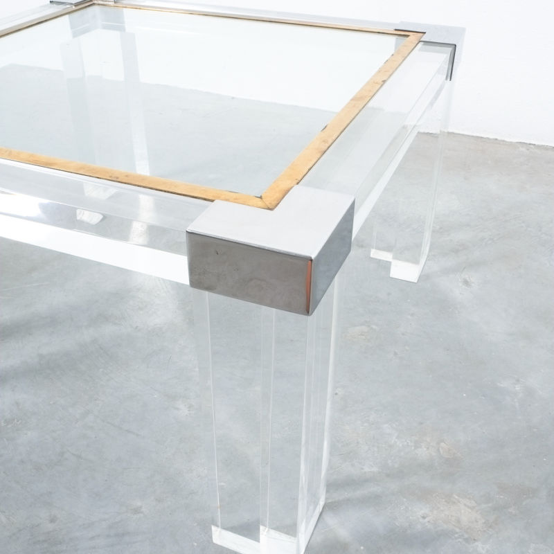 Charles Hollis Lucite Table 04