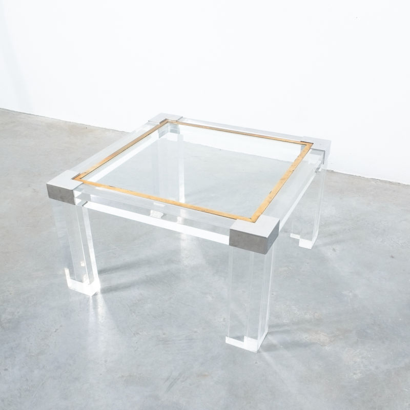 Charles Hollis Lucite Table 05