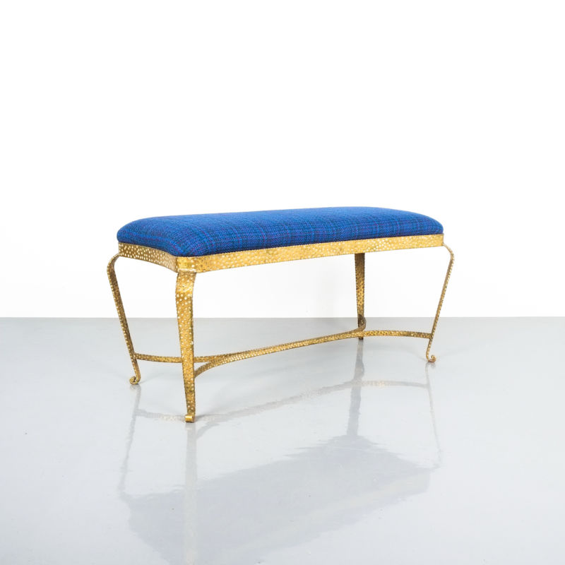 colli gold bench blue fabric_09 Kopie
