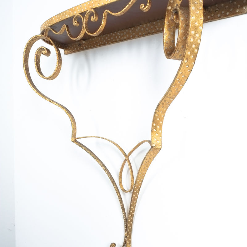 Colli Golden Iron Console Table 09