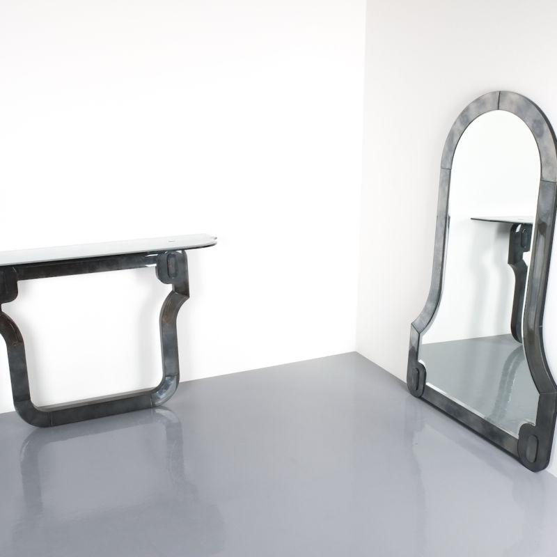 Console Mirror Barock 10