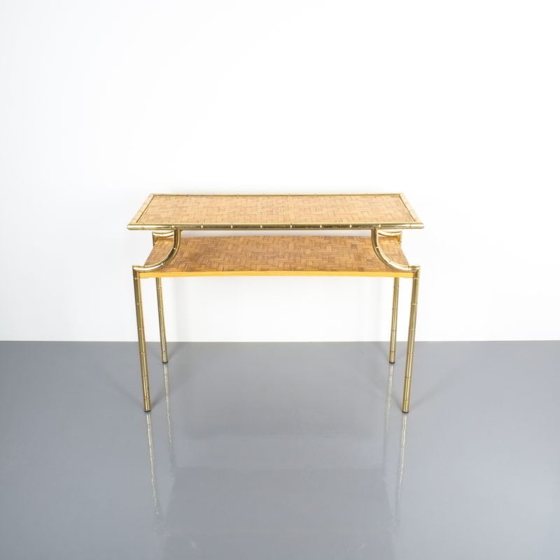 crespi style bamboo brass table 02 Kopie