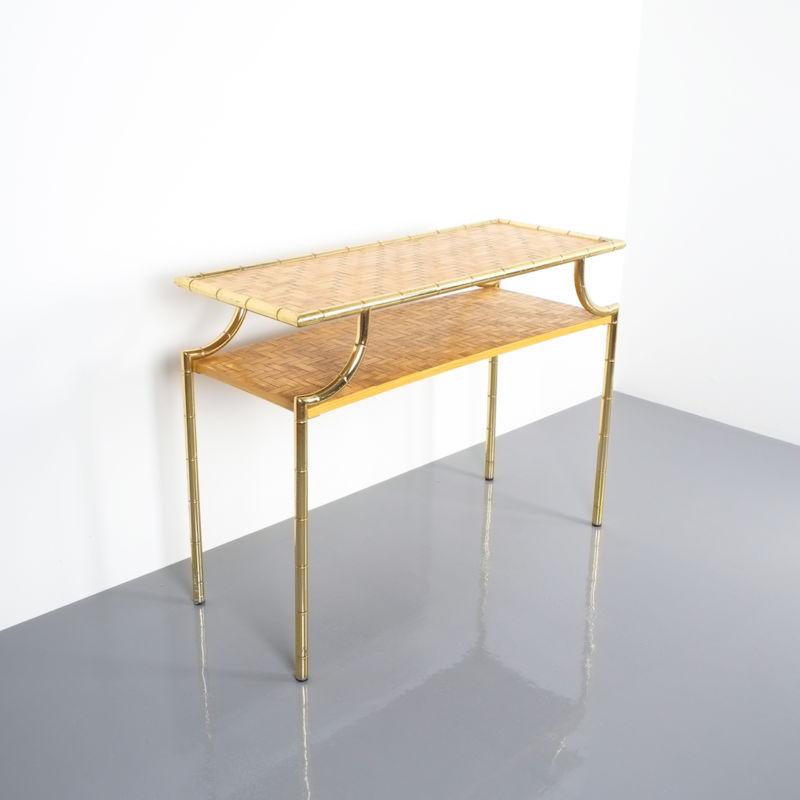 crespi style bamboo brass table 03 Kopie