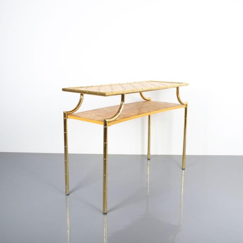 crespi style bamboo brass table 04 Kopie