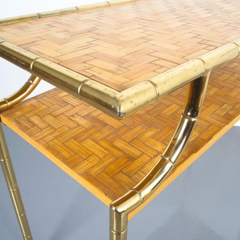 crespi style bamboo brass table 06 Kopie