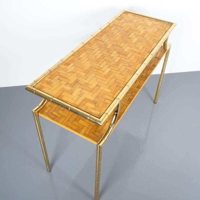 crespi style bamboo brass table 07 Kopie
