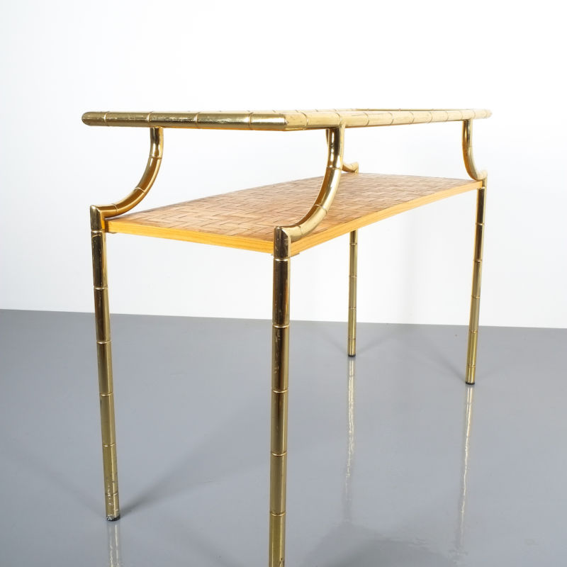 crespi style bamboo brass table 09 Kopie
