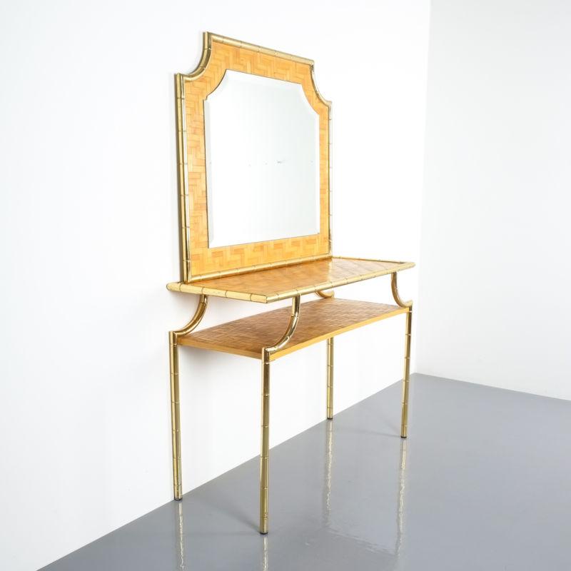 crespi style bamboo brass table 11 Kopie