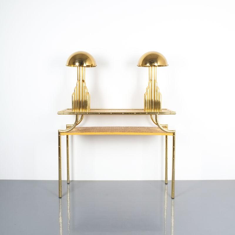 crespi style bamboo brass table 17 Kopie