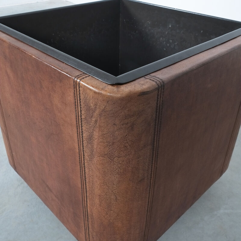 De Sede Leather Planter Ds 47 03