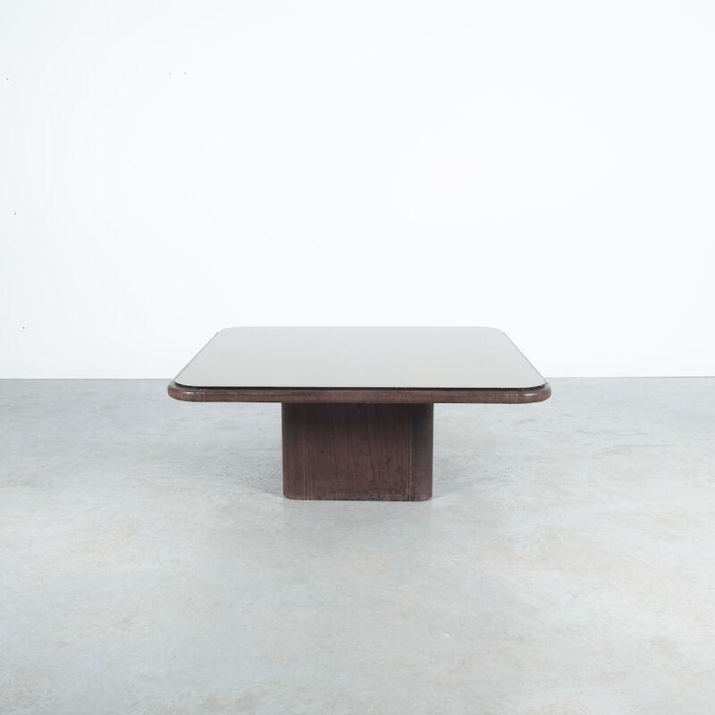 De Sede Leather Table Ds 47 Flat 01