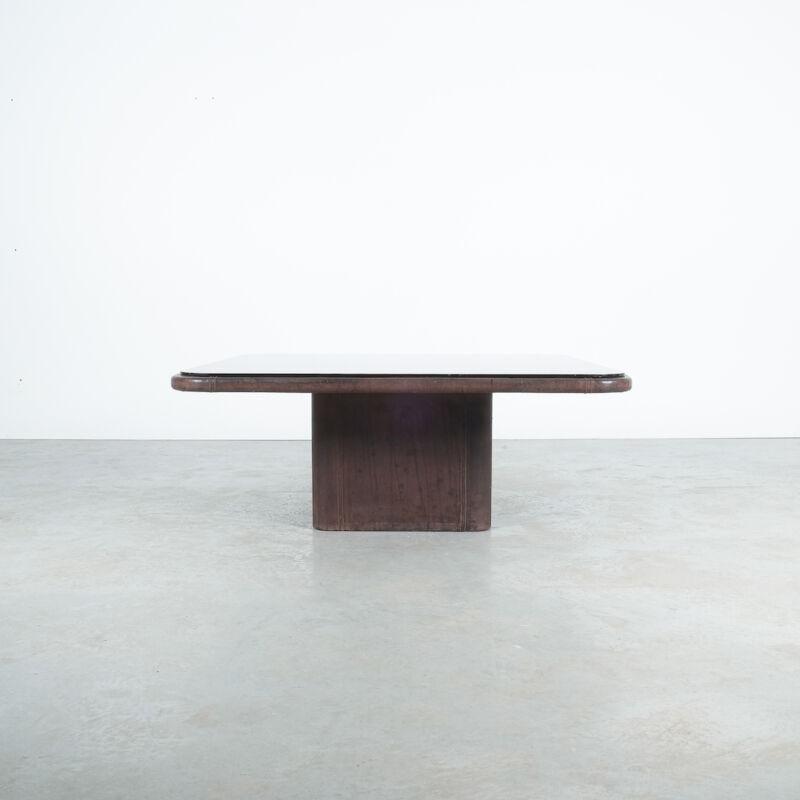 De Sede Leather Table Ds 47 Flat 02