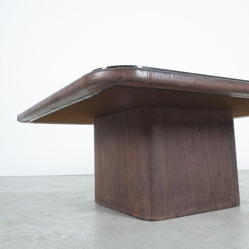 De Sede Leather Table Ds 47 Flat 03
