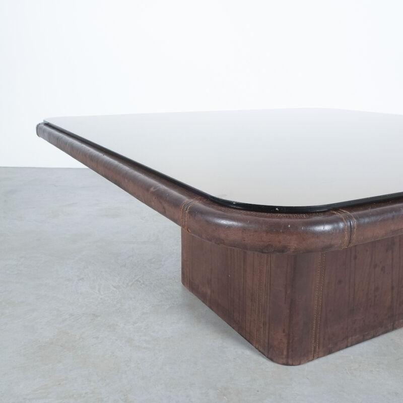 De Sede Leather Table Ds 47 Flat 05
