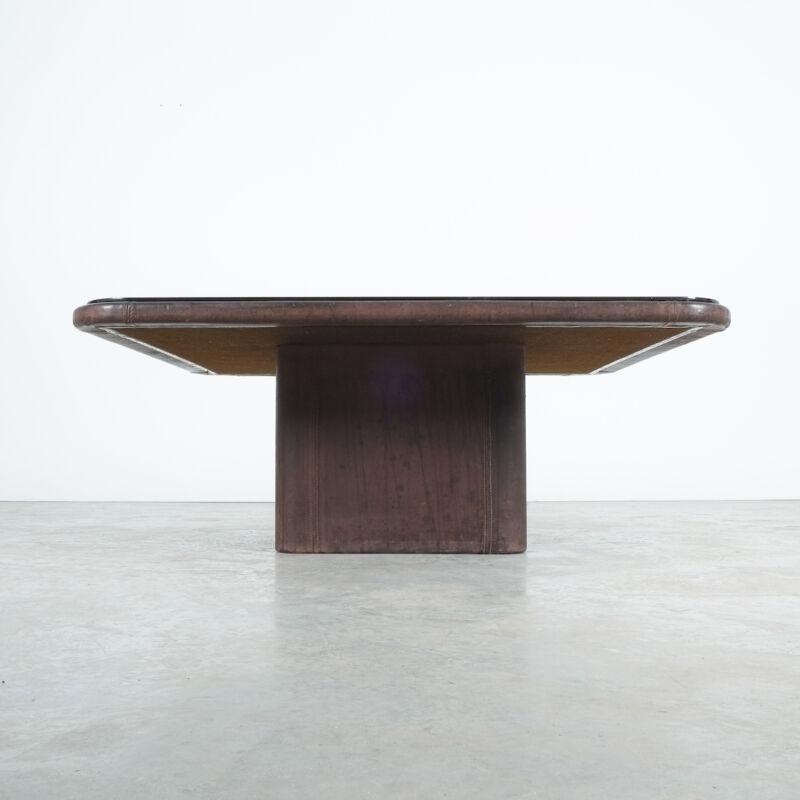 De Sede Leather Table Ds 47 Flat 06