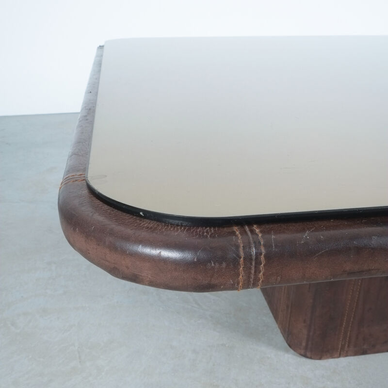 De Sede Leather Table Ds 47 Flat 07