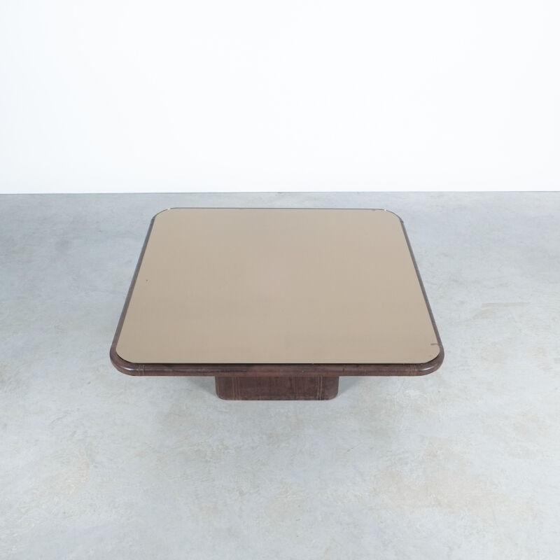 De Sede Leather Table Ds 47 Flat 09