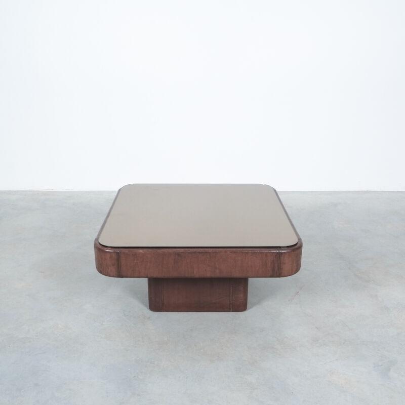 De Sede Leather Table Ds 47 03